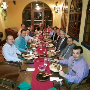 Asociación Panameña de Gastroenterología y Endoscopía Digestiva Actividad: Cena Día del Médico; Patrocina Laboratorio Stein Corp. Restaurante Hacienda Real 02 de junio de 2016